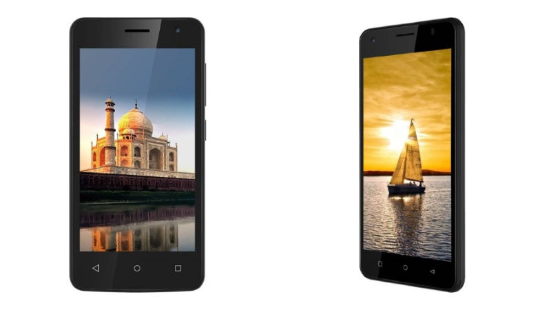 iVoomi Me4 and Me5 With 4G VoLTE, Android 7.0 Nougat Launched at Less Than Rs. 4,500