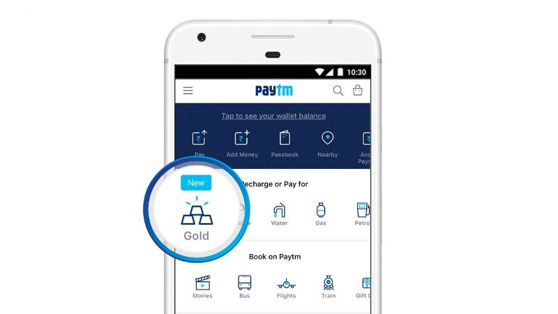 Paytm Says It Plans to Sell Gold Worth $200 Million This Year