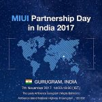 Xiaomi to Hold Its First MIUI Partnership Day in India on November 7